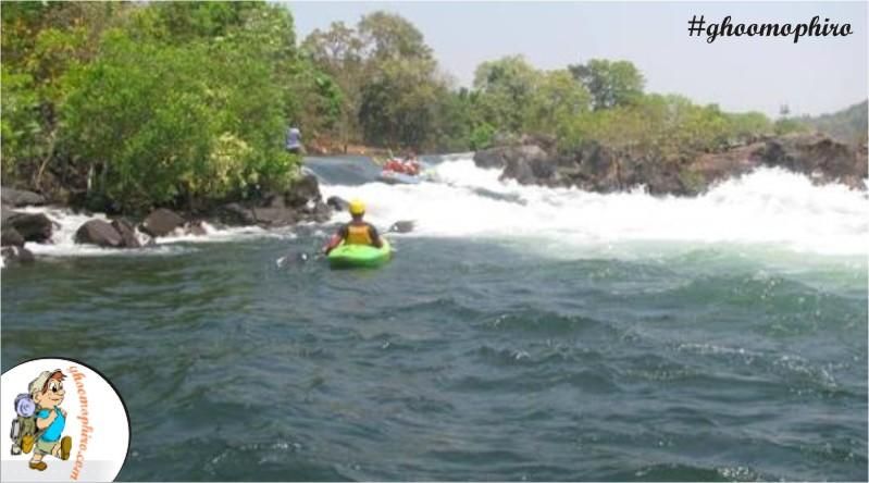 Kayaking at River Kali
